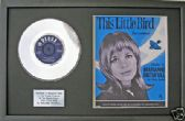 "MARIANNE FAITHFULL-7""PlatinumDisc&songsheet LITTLE BIRD"